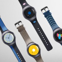 Wholesale HL Fashion Silicone Small Watch Band Strap For Samsung Galaxy Gear S2 SM R720 AUG