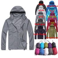 anorak waterproof - New Arrivals Men s Women s Anorak Coat Jackets For Outdoor Sports Cycling Camping Hiking Waterproof Windproof Nylon DX126