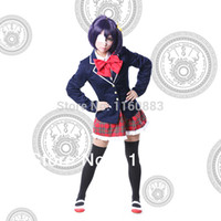 Wholesale Takanashi Rikka Cosplay ANIME Chuunibyou Demo Koi ga Shitai Rikka School Uniform Kawaii Costume
