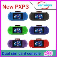 Wholesale 500 inch PXP3 Slim Station Bit Pocket Game Video Games Player Best Children Gifts Many Classical Games ZY PXP3