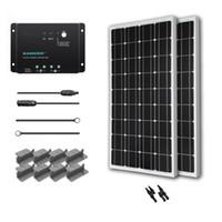 Wholesale ogy Watt Volt Monocrystalline Solar Starter Kit