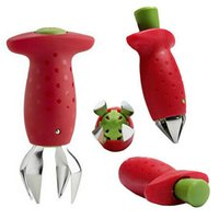 Wholesale Kitchen Fruit Strawberry Stem Leaves Huller Remover Tool