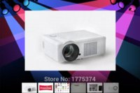 Wholesale Factory direct sale Free gift HD Projector LED LCD Home Theater TV Beamer Projektor Proyector HDMI USB VGA AV Lumens