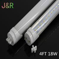 aluminum fluorescent bulbs - 25pcs ft mm led tube W Cool White SMD2835 Super Bright Led Fluorescent Bulbs AC100 V CE ROHS Aluminum Base PC