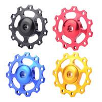 Wholesale Mountain Bike Road Bicycle Rear Derailleur T Guide Roller Jockey Wheel F00033 SPD