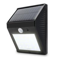 auto sense - 20LED Super Bright Solar Powered Wireless Outdoor PIR Motion Sensor Waterproof Garden Lamp with Dusk to Dawn Dark Sensing Auto On Off