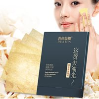 blotting paper - Men and women with Pula Tina native blotting paper face clean oil absorbing paper beauty tools