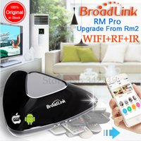 Wholesale Original Broadlink Rm2 Rm Pro Smart Home Automation Universal Wireless Remote Controller Wifi IR RF Switch By iPhone Pad Android