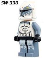 best commander - PG8002 SW childrens Building Blocks Models toys New Star Wars Clone Commander Wolffe Minifigures Bricks Best Gift Mini Toys