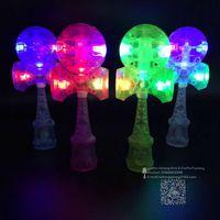 Wholesale 100 kendama LED Plastic FEDEX