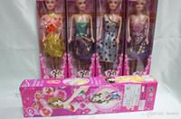 Wholesale doll Barbie doll single boxed enclosing a solid body Barbie