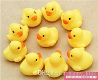 Cheap Kids Toy Rubber Duck Kids Toy New Baby Yellow Rubber Duck Children Bath Water Pinch Rang Early Childhood Educational Toys