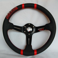 Wholesale mm ABS Leather Momo Drifting Steering Wheel