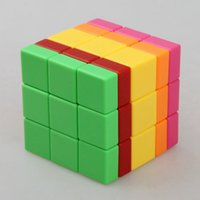 Wholesale MHZ MingHaoZhi C4U mm x3x5 Intelligence Test Magic Cube Speed Puzzle Cubes Special Educational Toys For Kids Child