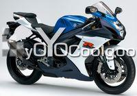 Wholesale For Fairing GSX R GSXR600 GSXR750 injection F7623B blue