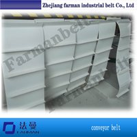 Wholesale Rough Top Cleat food grade Beer Industry PVC Conveyor Belt