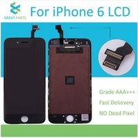 Wholesale Grade AAA Top Quanlity LCD For iPhone Screen Display With Digitizer Replacement Assembly White Black Color