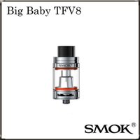 big bigger - Authentic Smok TFV8 Big Baby Beast Tank with ml Bigger e Juice Capacity Adopts V8 Baby X4 Core V8 Baby T6 Core DHL Free