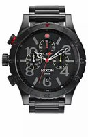 Wholesale NX Men s A486 Quartz Watches THE CHRONO Black Dial Black Steel Band CHRONOGRAPH Original A4861320