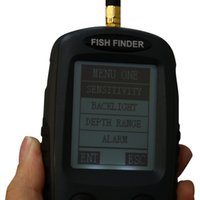 Wholesale Alarm M Portable LCD Fish Finders Fishing Iure Sonar Sensor Echo Sounder Fishing Finders Electronic Fishing Tackle Finder