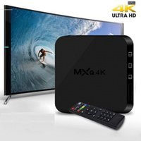 Wholesale MXQ K Android TV Box Quad core RK3229 GH Smart TV GB RAM GB ROM K x K set top box