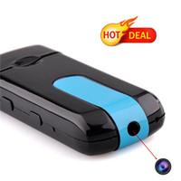 Wholesale Spy Camera USB Disk U8 Hidden Camera HD Mini DVR Motion Detect Camera Portable Camcorder Candid Camera