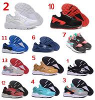 air cheap - Cheap Air Huarache Run Premium Black White Knit Men Women running shoes Original Air Huaraches For Men Women Shoes Size