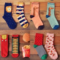 Rugby beauty colleges - NEW fashion audult t socks autumn winter pure cotton socks animal life series beauty cute stocks MIXEDLOT