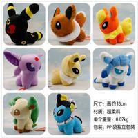 Wholesale pikachu Movie Pocket Styles cm Umbreon Eevee Espeon Jolteon Vaporeon Flareon Glaceon Leafeon Plush Toys stuffed dolls
