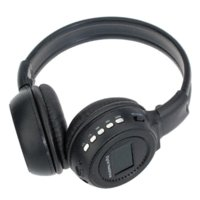 Wholesale N65 Head mounted MP3 Player Headset FM with LED colorful flash Cheap mp3 headset
