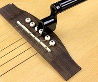 acoustic guitar tools - Plastic Acoustic Guitar String Winder Speed Peg Puller Bridge Pin Remover Handy Tool Set Of