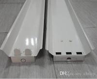 aluminum fluorescent lamps - 600mm double LED T8 bracket AC85 V lamp fluorescent stent led tube lamps lighting t8 lamp holder lamp full set of