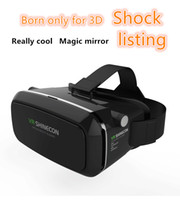 Wholesale 2016 latest shinecon D allows virtual reality VR glasses headset Rift Oculus head to wear D movie game program Google board