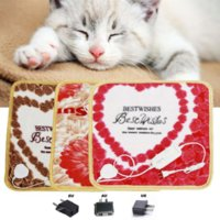Wholesale Hot Selling High Quality Villi Pet Dog Cat Electric Blanket Pad Heater Warmer Mat Bed Blankets Heating cm Pet Keep Warm