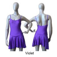 asymmetrical leotard - Nylon Lycra Camisole Dance Leotard with Asymmetrical Skirts Modern Dance Skirts for Ladies and Girls Full Sizes Colors Available
