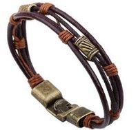 amazon brand - Hot On Amazon Retro Bohemia Beach Style Brand Jewelry multi layers Bracelet rope Chain Bracelets For Women