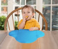 baby rubber mats - 10 Baby Table Placemat Waterproof Infant Girls Boys Eating Mat Rubber Cup Mat Place Mats TRQ0188