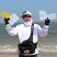 bags garcia - bag charm ABU GARCIA Waist Tackle Bag pockets Fishing Tackle Bags Fishing Bag fly lure Waterproof fabrics pockets