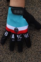 bianchi touring bikes - Unisex Cycling Gloves bianchi gloves Bike bicycles gloves with Gel pads full finger gloves for Tour of France