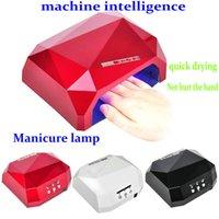 arts intelligence - Nail art Lamp LED Light Therapy Machine W Quick Drying Nail Polish Glue Light Therapy Lamp Nail art Intelligence Timing Heat Lamp