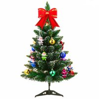artificial box ball - Artificial Christmas Tree Set with Accessories Ornaments Christmas Ball Gift Box Christmas Decoration Supplies for Outdoor Stage