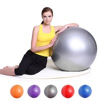 yoga ball exercise ball - Fitness Yoga Ball Multi use Burstproof Exercise Gym Trainning Fitness Balls Weight Loss Sport Pilates Ball MD0033 kevinstyle