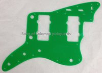 Wholesale For US Jazzmaster Guitar Pickguard Ply Green Acrylic