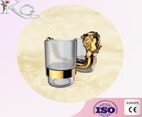 bathroom tumblers - brass bathroom accessories golden plated double tumbler holder two glass cup toothbrush holder wall mounted bath twin tumbler holder and cup