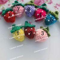 Precio de Cosiendo flores 3d-Remiendo hecho a mano de la manera 60pcs Crocheted las flores 3D manchan la ropa del Applique de los remiendos DIY que hace punto la flor material hecha punto