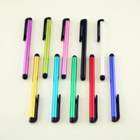 Wholesale Touch Stylus S Handwriting Pen anti Case for iphone s g ipad mini HTC Capacitance screen pen Color