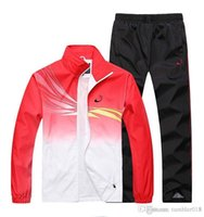 Wholesale men sport suit adult early morning runs men tracksuits adult clothing size M XL colors spring and autumn sales