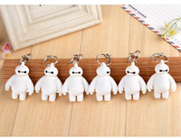 Wholesale Big doll white key chain sunshine boy phone pendant car key chain dolls Charms Men and women car key chain