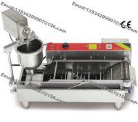 automatic doughnut machine - Stainless Steel Heavy Duty v v Electric cm cm cm Automatic Donut Doughnut Machine Maker Fryer