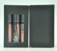 Wholesale High quality HOT Makeup Flat Finish Pigment Matte Lip Gloss set of color G GLG831 Box DHL GIFT
